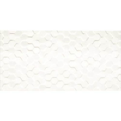 Daltile Multitude Hexagon 12 X 24 Origami White