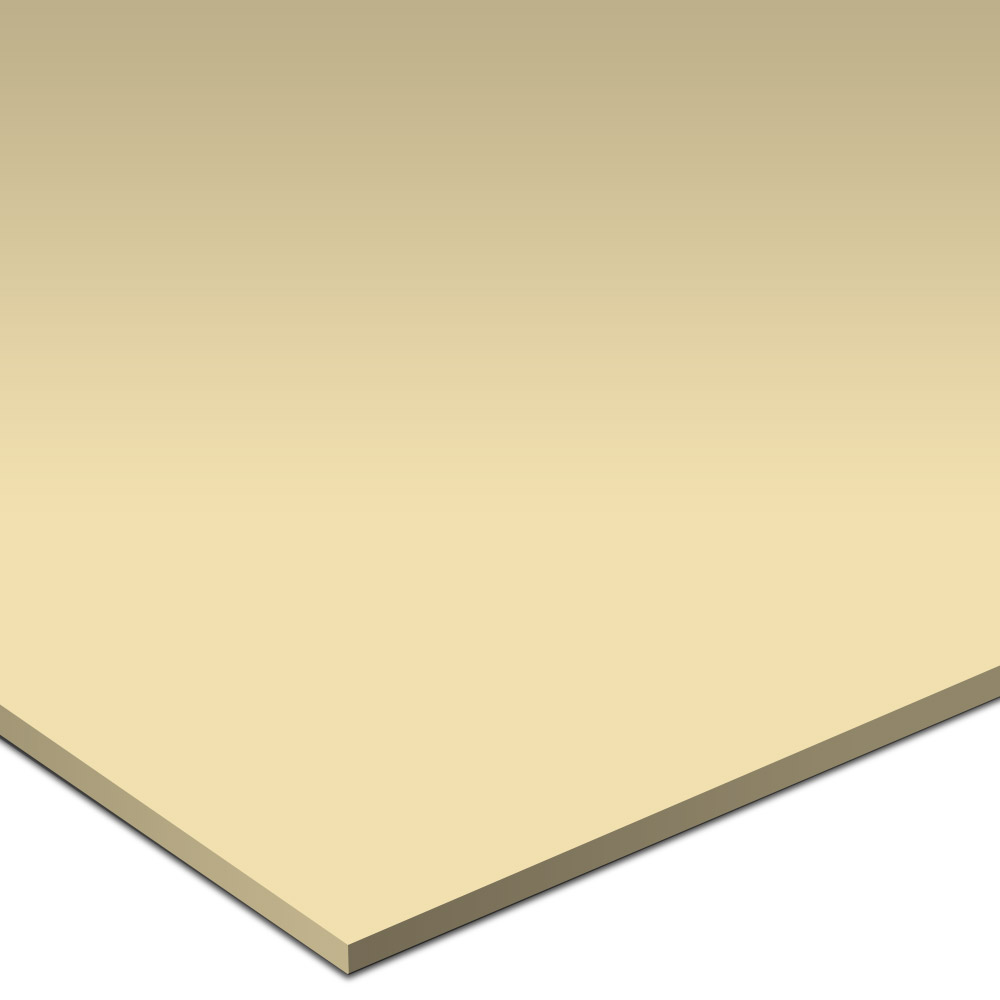 Daltile Natural Hues 3 x 3 Smooth Dot Mounted Buttercream