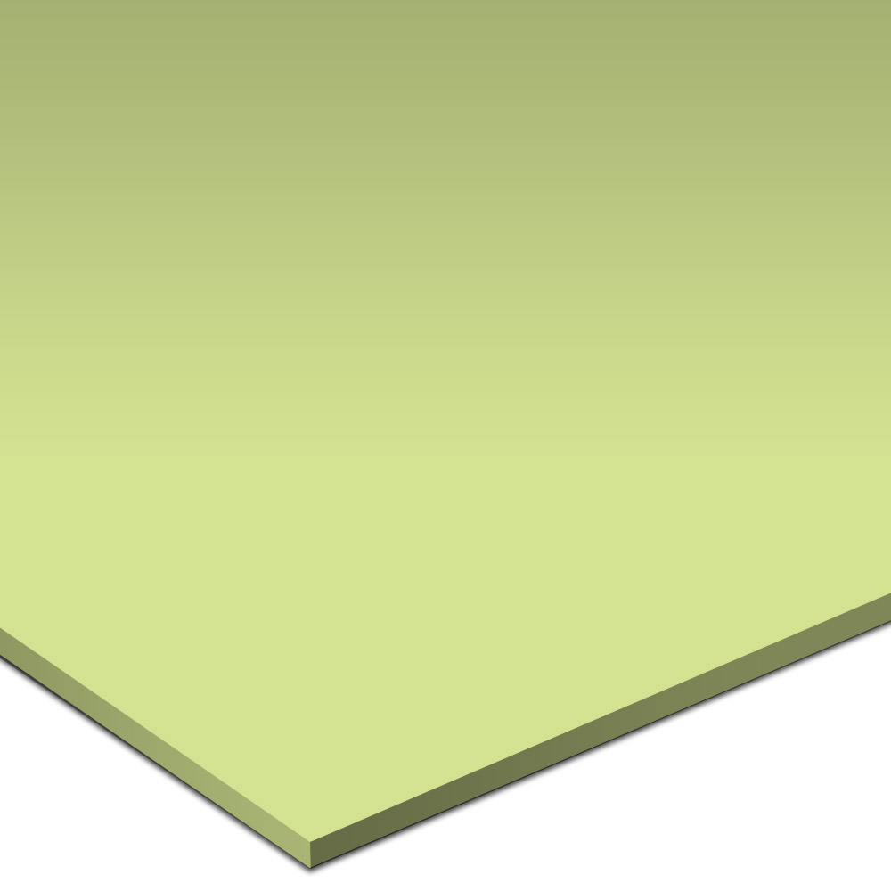 Daltile Natural Hues 3 x 3 Smooth Dot Mounted Honeydew