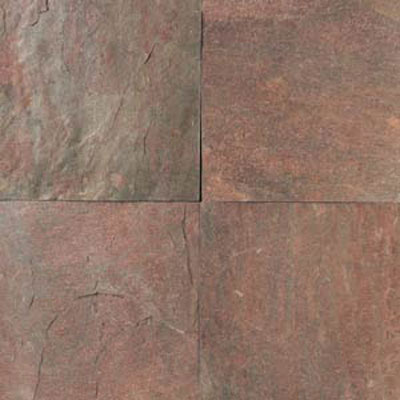 Daltile Tumbled Natural Stone Slate 4 x 4 TS73 Copper TS73441P