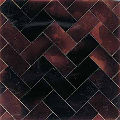 Daltile Ocean Jewels Herringbone Young Pin OJ02 22HB1L