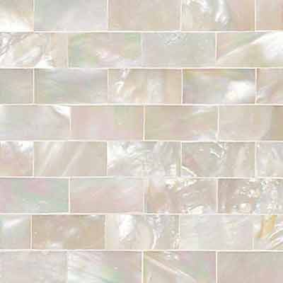 Daltile Ocean Jewels Running Board Mother Of Pearl OJ03 22RB1L