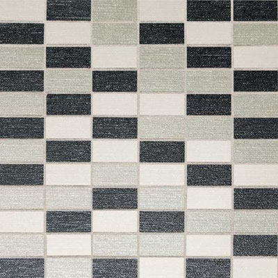 Daltile PZazz Mosaic 1 x 2 Cool Blend P267 12MS1P