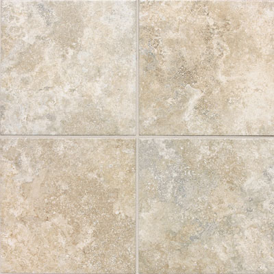 Daltile San Michele 18 x 18 Cross Cut Crema SI30 18181P