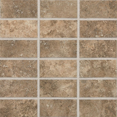 Daltile San Michelle 2 x 4 Mosaic Cross Cut Moka SL32 24MS1P