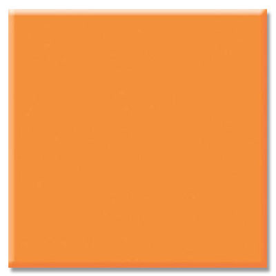 Daltile Semi-Gloss 6 x 6 Totally Tangerine Q151