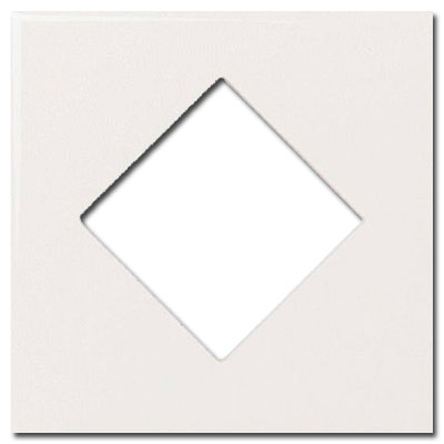 Daltile Fashion Accents Semi-Gloss Inserts Diamond White 4 x 4 FA50 10044DIA1P2