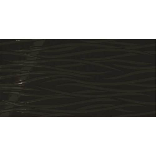 Daltile Showscape 12 x 24 Brushstroke Black