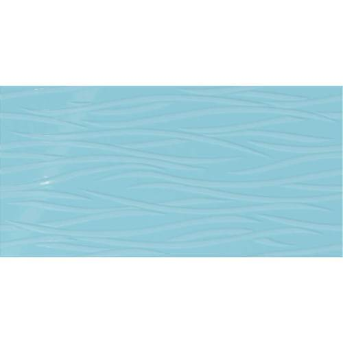 Daltile Showscape 12 x 24 Brushstroke Crisp Blue