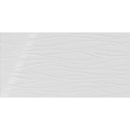Daltile Showscape 12 x 24 Brushstroke Stylish White