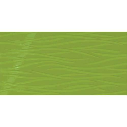 Daltile Showscape 12 x 24 Brushstroke Vivid Green