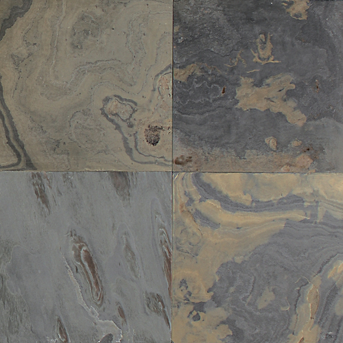 California Gold Slate : Daltile slate collection honed tile stone colors