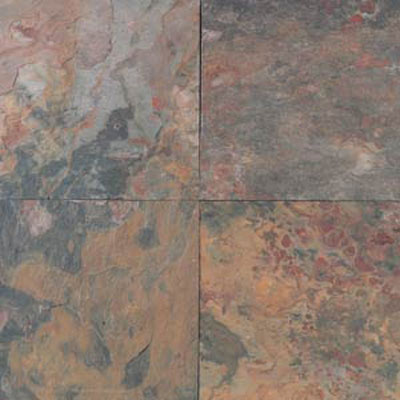 Daltile Slate Collection - Imported 16 X 16 Sunset Glory S775 16161P