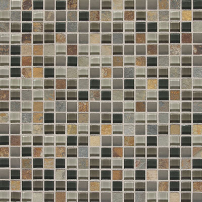 Daltile Fashion Accents Slate Radiance 5/8 x 5/8 Mosaic SA55 Flint SA555858MS19