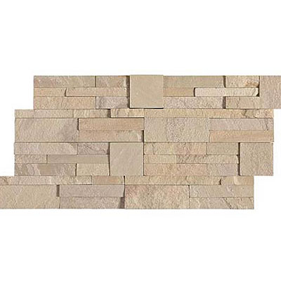 Daltile Slate Collection - Slate Stacked Stone Eastern Sand S319 716STACK1T