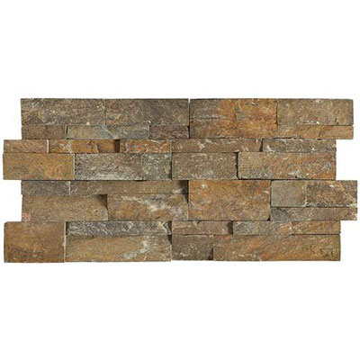 Daltile Slate Collection - Slate Stacked Stone Imperial Falls S316 716STACK1T