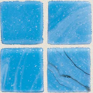 Daltile Sonterra Collection Mosaic Cancun Blue Opalized SR50 11MS1P
