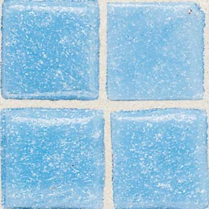 Daltile Sonterra Collection Mosaic Acapulco Blue Opalized SR53 11MS1P