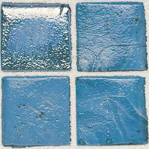 Daltile Sonterra Collection Mosaic Azul Verde Opalized SR60 11MS1P