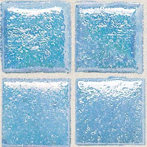 Daltile Sonterra Collection Mosaic Acapulco Blue Iridescent SR73 11MS1P