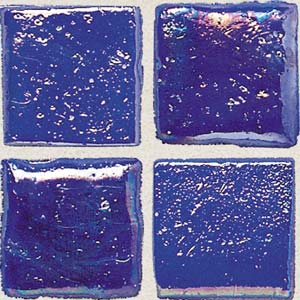 Daltile Sonterra Collection Mosaic Kihea Blue Iridescent SR79  11MS1P
