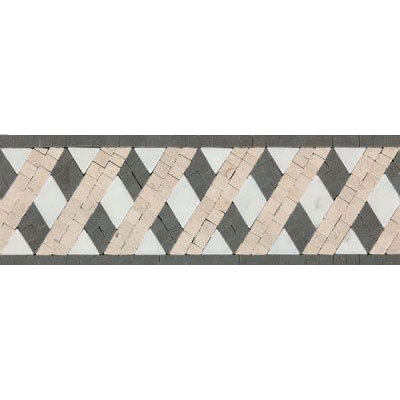 Daltile Fashion Accents Stone Combinations F006 Lattice F006412DECO1P