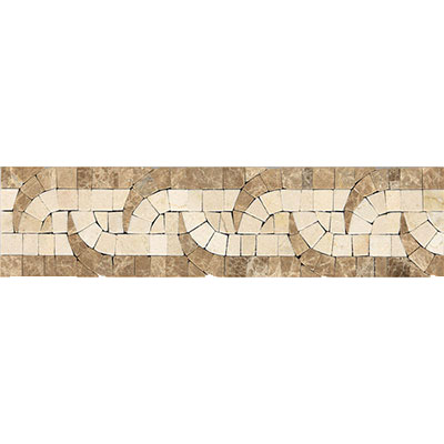 Daltile Fashion Accents Stone Combinations FA87 Tribal FA87312DECO1P