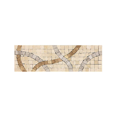 Daltile Fashion Accents Stone Combinations FA89 Crossroads Beige FA8939DECO1P