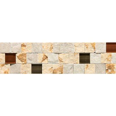 Daltile Stone Decorative Borders Adige Warm Blend DA81 312BR1S
