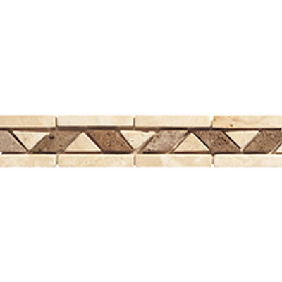 Daltile Stone Decorative Borders Walnut Rope