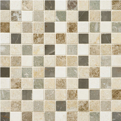 Daltile Stone Decorative Mosaics Brenta Blend Honed Mosaic DA87 11MS1U