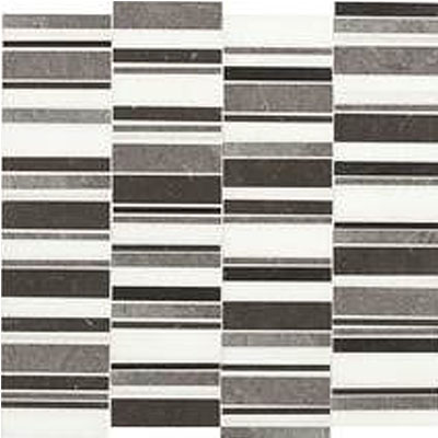 Daltile Stone Decorative Mosaics Cool Waterfall Blend DA91 3RANDMS1L