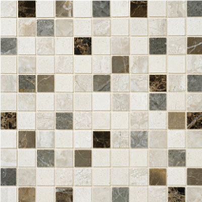 Daltile Stone Decorative Mosaics Taro Blend Polished Mosaic DA89 11MS1L