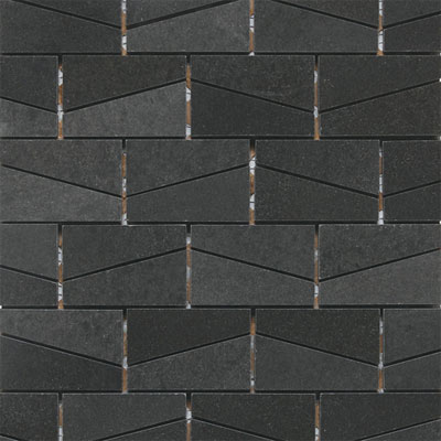 Daltile Stone a la Mod Mosaics Wedge Polished - Urban Bluestone L222 23WDGMS1L