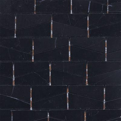 Daltile Stone A La Mod Mosaics Basketweave Honed