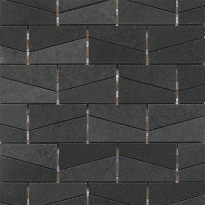 Daltile Stone A La Mod Wedge Polished Mosaic Urban Bluestone