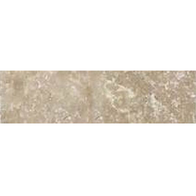 Daltile Travertine Builder Select Chair Rail Light Noce BE11 212CR1P