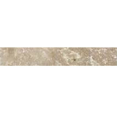 Daltile Travertine Builder Select Pencil Rail Light Noce Honed BE11 112PR1P
