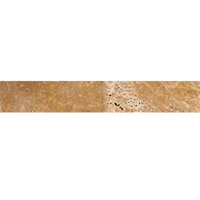 Daltile Travertine Builder Select Pencil Rail Sienna Honed BE12 112PR1P