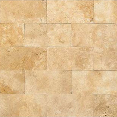 Daltile Travertine Natural Stone Polished 3 x 6 Fossil Ridge Cross Cut T102361L