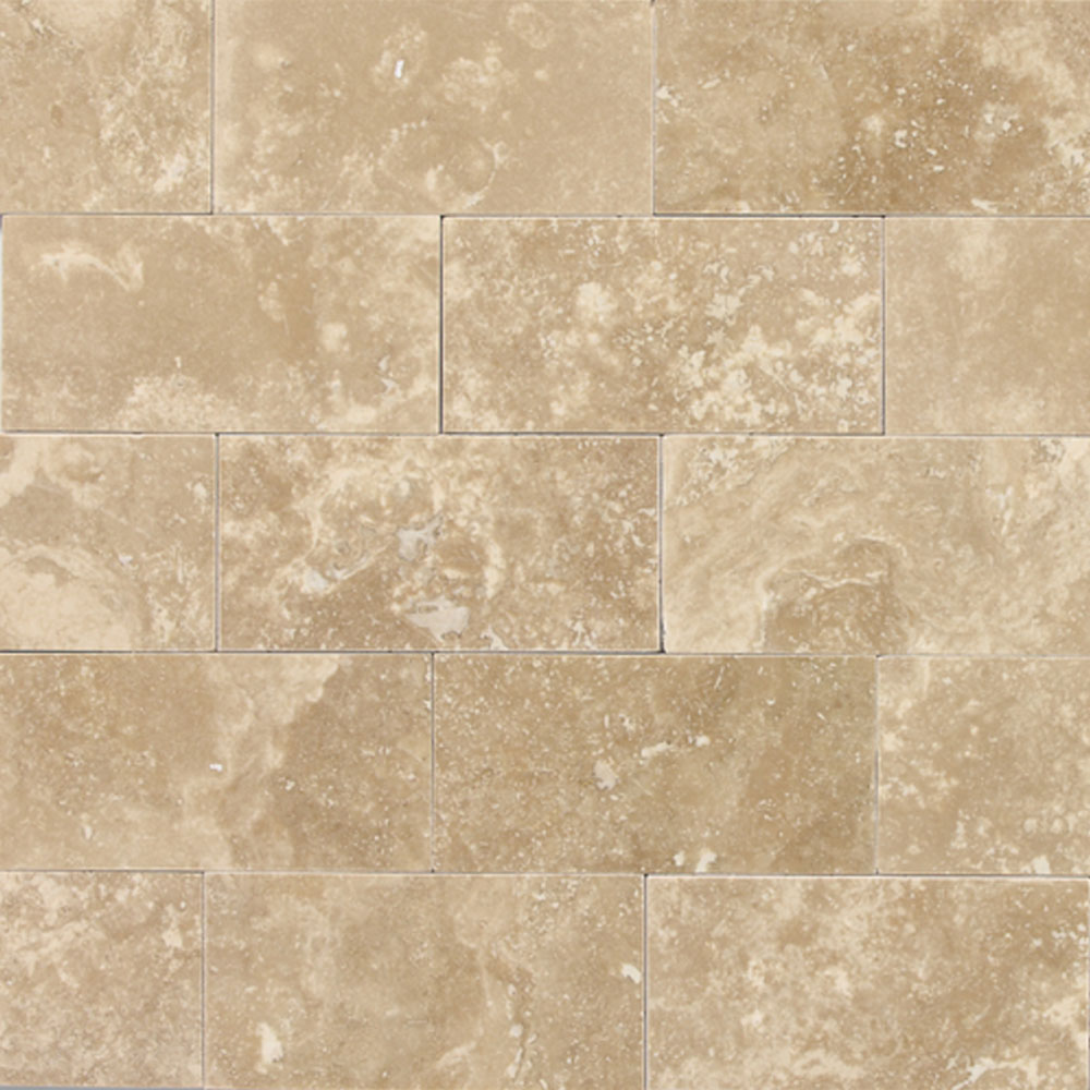 Daltile Travertine Natural Stone Polished 3 x 6 Torreon T711361L