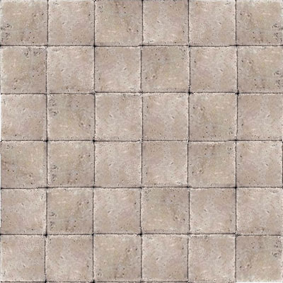 Daltile Travertine Builder Select Mosaic 2 x 2 Ivory Classico