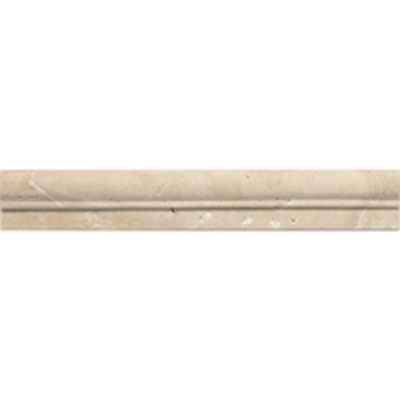 Daltile Travertine Natural Stone Polished Chair Rail Torreon T711 212CR1L