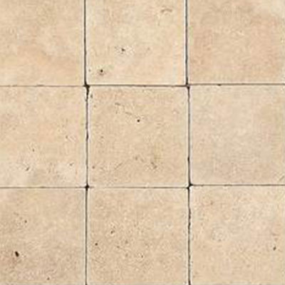 Daltile Travertine Natural Stone Honed 12 x 12 Fossil Ridge