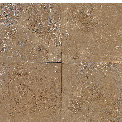 Daltile Travertine Natural Stone Honed 12 x 12 Noce