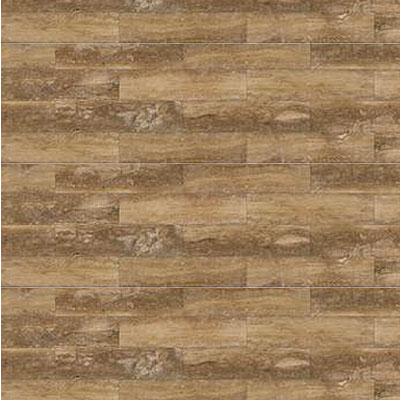 Daltile Travertine Natural Stone Honed 4 x 12 Petrified Forest
