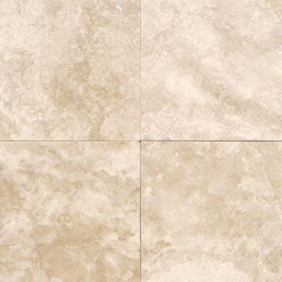 Daltile Travertine Natural Stone Honed 12 x 12 Torreon