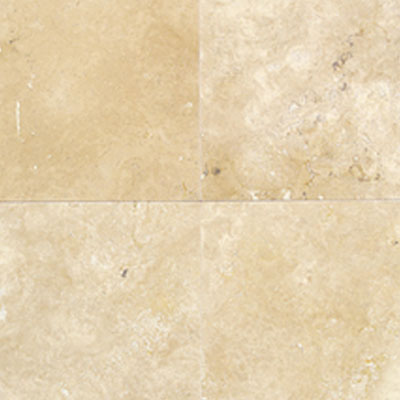 Daltile Travertine Natural Stone Honed 12 X 12 Durango