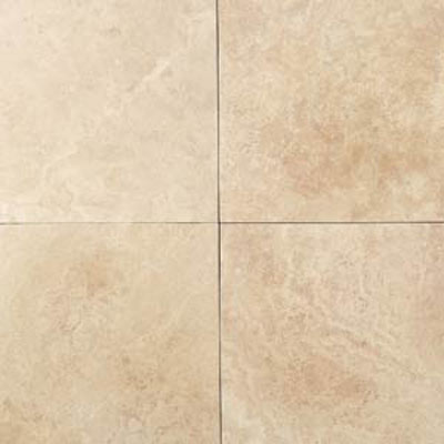 Daltile Travertine Natural Stone Honed 18 x 18 Mediterranean Ivory T730 1818121U