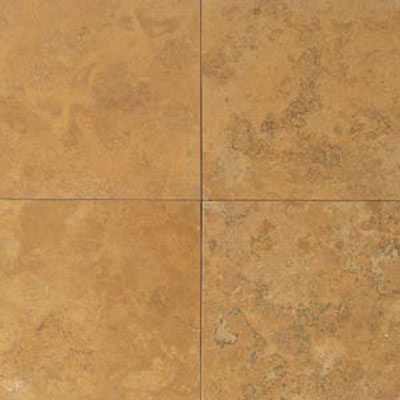 Daltile Travertine Natural Stone Honed 18 x 18 Golden Sienna T731 1818121U